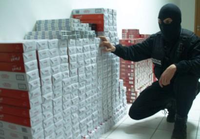 Contrabandă masivă cu țigări la Constanța: Descinderi în 17 locații