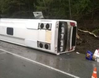 ACCIDENT în Neamț, cu un autocar în care se aflau 35 de persoane!