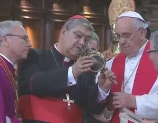 VIDEO – Primul MIRACOL înfăptuit de Papa Francisc! Toată lumea este de acord