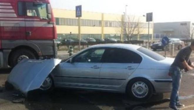 Grav accident în Timișoara, provocat de o șoferiță într-un BMW!